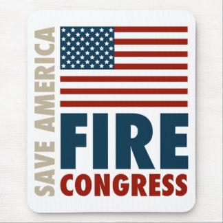 Ahorre al congreso del fuego de América Alfombrilla De Raton