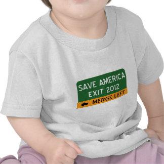 Ahorre América Demócrata Camiseta