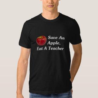 Ahorre Apple, coma a un profesor (oscuro) Poleras