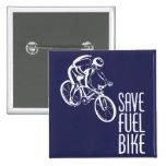 Ahorre Biking del combustible Pins