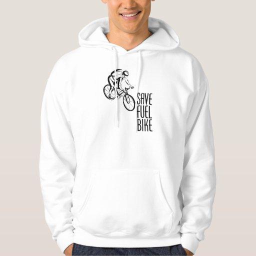 Ahorre Biking del combustible Sudadera