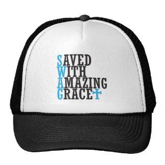 Ahorre con el gorra cruzado cristiano del SWAG aso