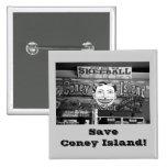 ¡Ahorre Coney Island! Ajuste el botón Pin
