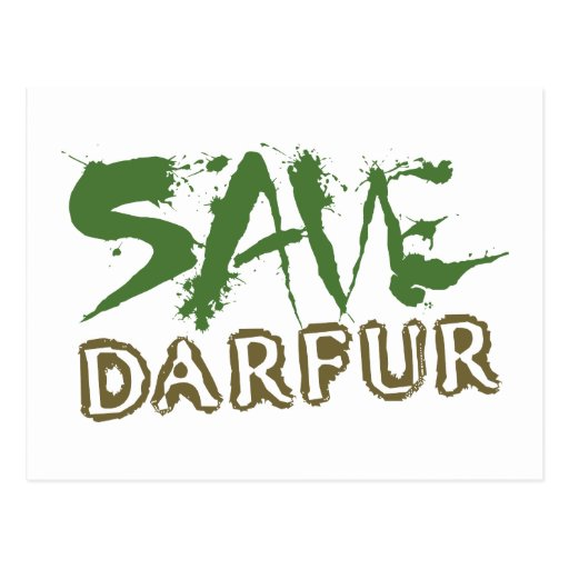 Ahorre Darfur 2 Postal