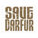 Ahorre Darfur 6 Postal