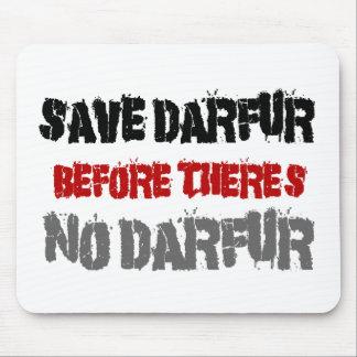 AHORRE DARFUR ANTES DE QUE NO HAYA DARFUR 2 TAPETES DE RATÓN