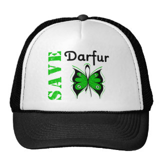 Ahorre Darfur Gorras