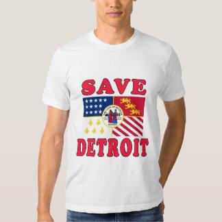 ¡Ahorre Detroit! Playera