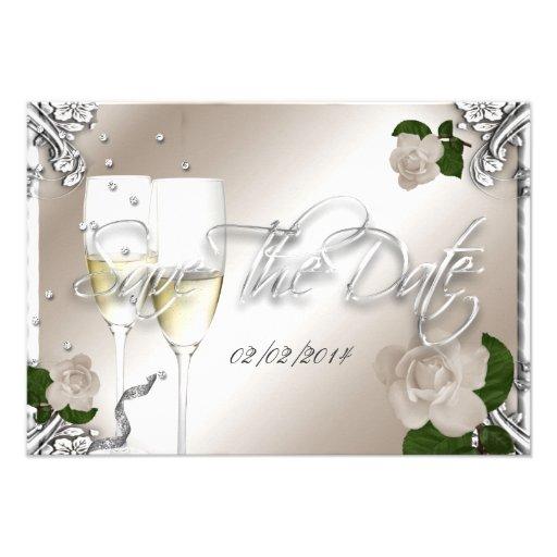Ahorre el 25to boda del aniversario de la fecha anuncios personalizados