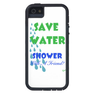 Ahorre el agua… Ducha con un amigo iPhone 5 Case-Mate Carcasas