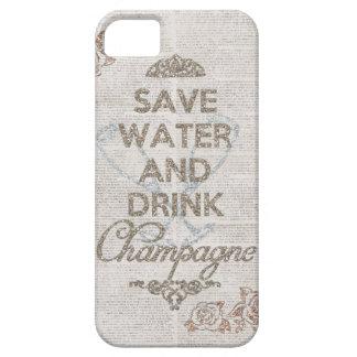 Ahorre el agua y beba la caja lamentable del iPhone 5 funda
