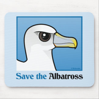 Ahorre el albatros el retrato alfombrilla de raton