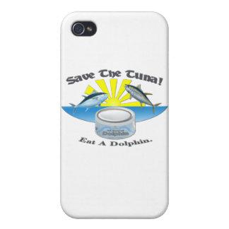 ¡Ahorre el atún! iPhone 4 Carcasas