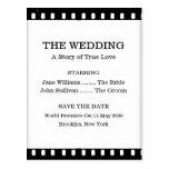 Ahorre el boda de la fecha con un tema de la pelíc