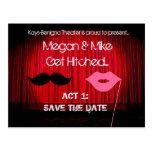 Ahorre el boda del teatro de la fecha
