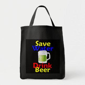 Ahorre el bolso de la cerveza de la bebida del agu bolsa de mano