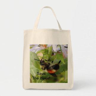 Ahorre el bolso de ultramarinos orgánico de la bolsas de mano