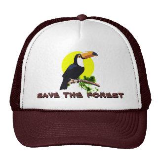 Ahorre el bosque - Toucan Gorro