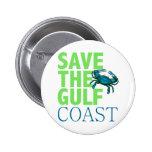 Ahorre el botón de la Costa del Golfo Pins