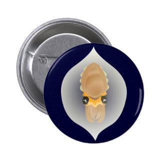 Ahorre el botón del huevo de las jibias pin redondo de 2 pulgadas