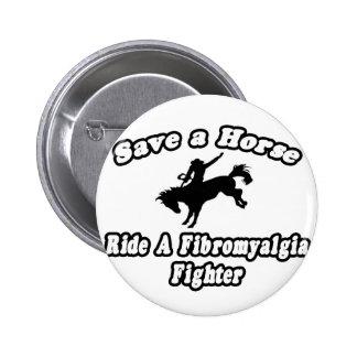 Ahorre el caballo, combatiente del Fibromyalgia de Pins