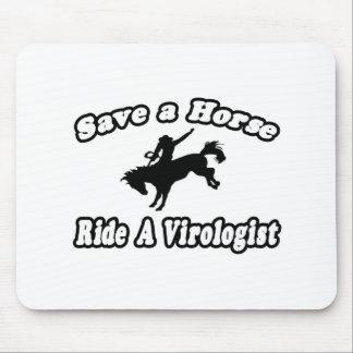 Ahorre el caballo, virólogo del paseo tapetes de raton