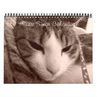 Ahorre el calendario de Simon