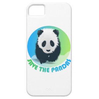 Ahorre el caso del iPhone 5 de las pandas iPhone 5 Case-Mate Carcasa