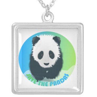 Ahorre el collar de las pandas