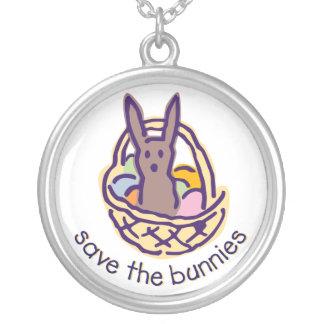 Ahorre el collar de los conejitos