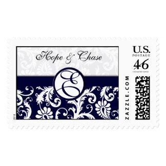 Ahorre el damasco de la fecha en el boda del sello