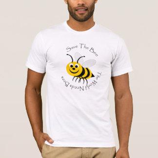 Ahorre el diseño de la abeja playera