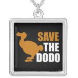 Ahorre el dodo colgantes