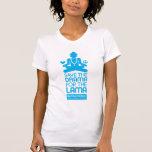 Ahorre el drama para el lama - azul brillante camiseta