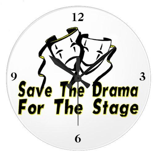 Ahorre el drama para la etapa reloj
