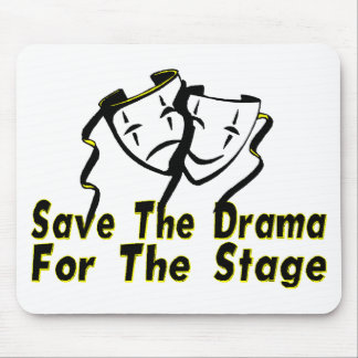 Ahorre el drama tapete de ratones
