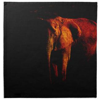 Ahorre el elefante servilleta