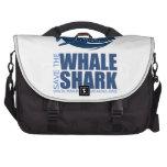 Ahorre el engranaje del tiburón de ballena de MMF Bolsas Para Ordenador