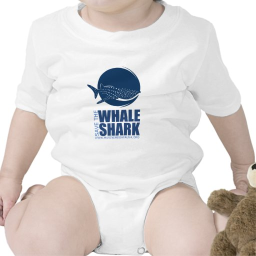 Ahorre el engranaje del tiburón de ballena de MMF Camisetas