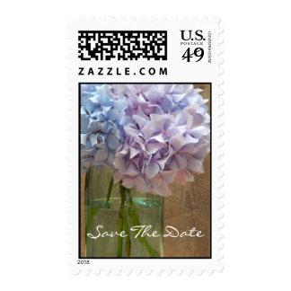 Ahorre el franqueo de la fecha - Hydrangeas en un