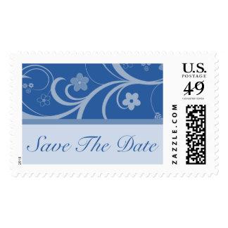 Ahorre el franqueo del boda de los azules marinos