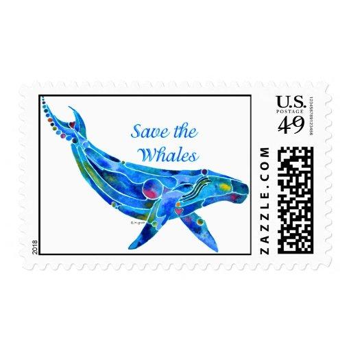 Ahorre el franqueo del Humpback de la ballena