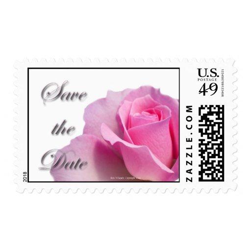 Ahorre el franqueo subió rosa de la fecha