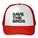 Ahorre el gorra de Bros - rojo