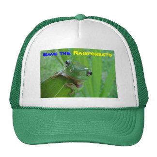ahorre el gorra de las selvas tropicales