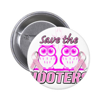 Ahorre el Hooters.png Pin Redondo De 2 Pulgadas