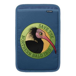 Ahorre el Ibis calvo septentrional Funda Para Macbook Air