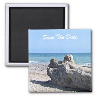 Ahorre el imán de la resaca de la playa de la fech