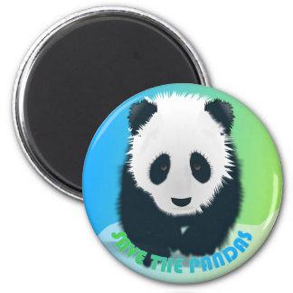 Ahorre el imán de las pandas