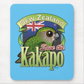 Ahorre el Kakapo de Nueva Zelanda Alfombrilla De Raton